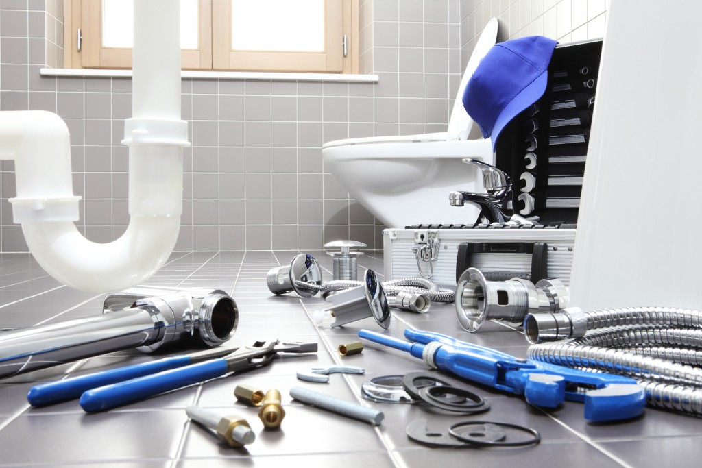 stainless steel plumbing equipment