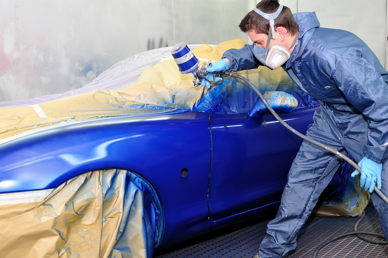 auto spray booth