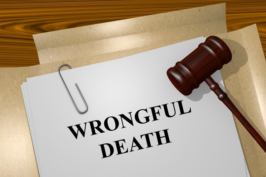 Wrongful death document