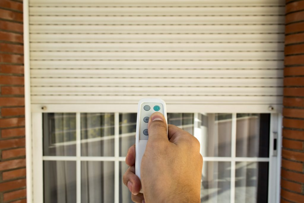 remote controlling the rolling door