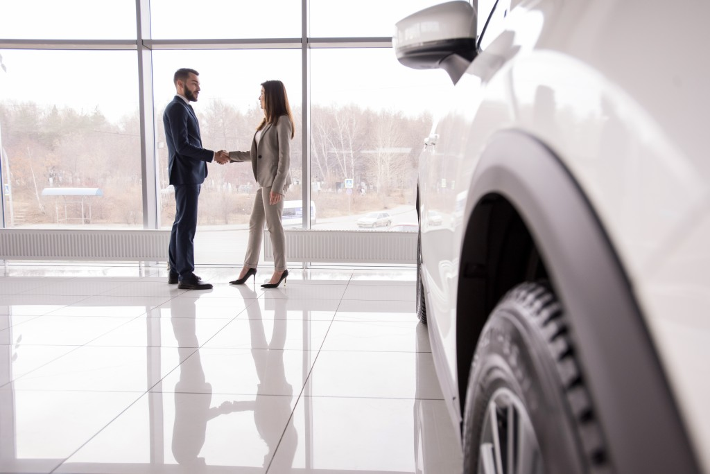 buying a car at a dealership