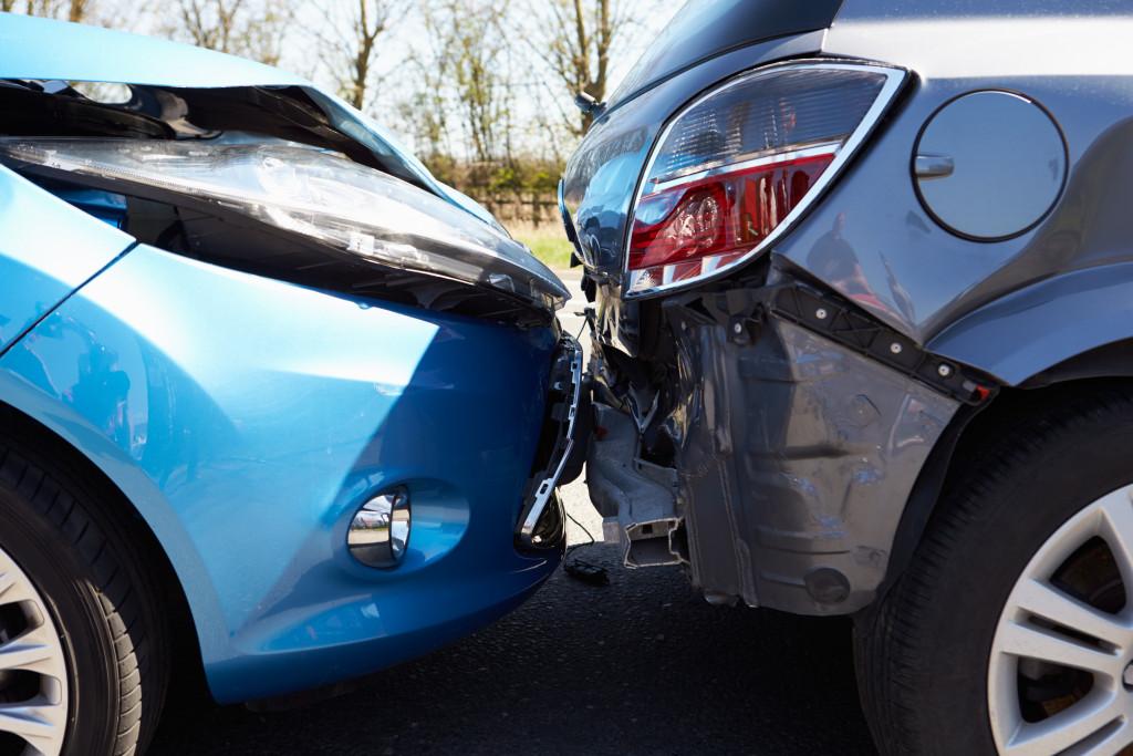 car damage accident
